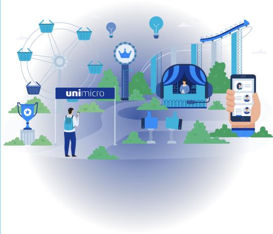Regnskapsføring med Kemax - bilde av Uni Micro sine tjenester