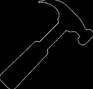 Regnskapsføring med Kemax - bilde av en hammer