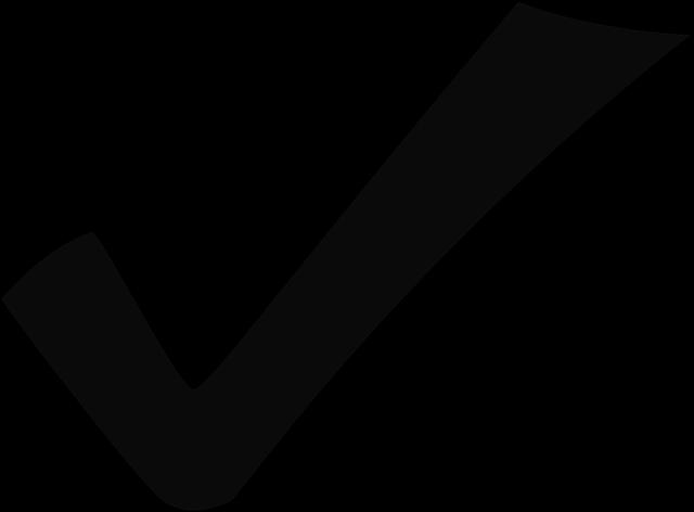 Kemax regnskapfører - bilde av avhakkingstegn - check mark